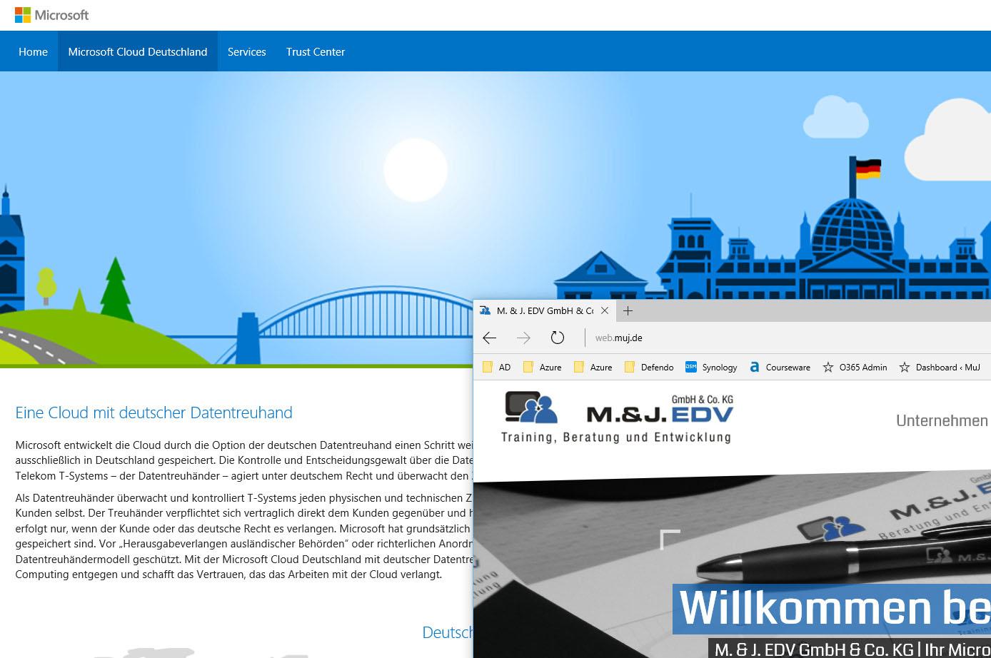 Office 365 nun auch aus Deutschland
