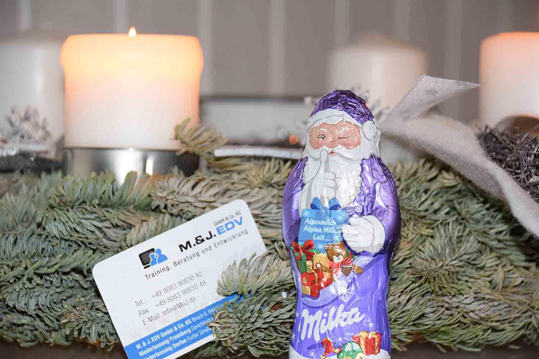 Wir wünschen einen schönen Nikolaustag!